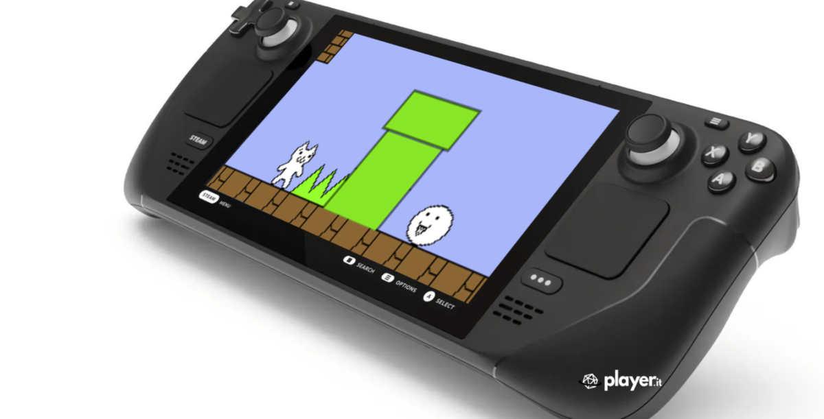Cat Mario su Steam Deck