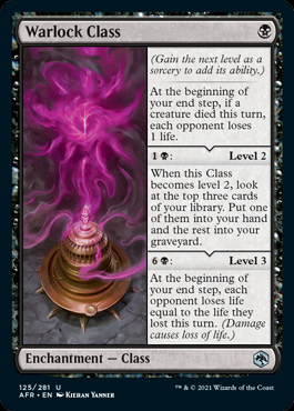 Classe Warlock Magic D&D