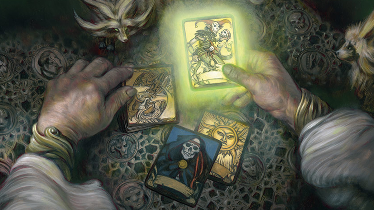 Deck of Many Things Magic D&D