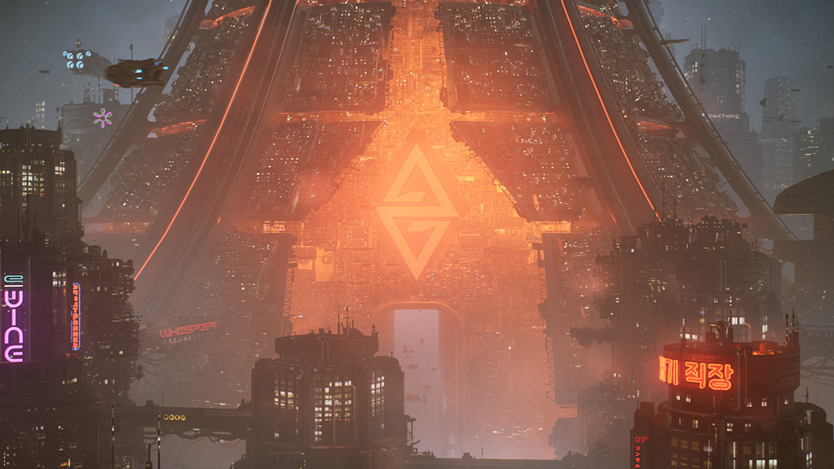 La base dell'Arcologia The Ascent
