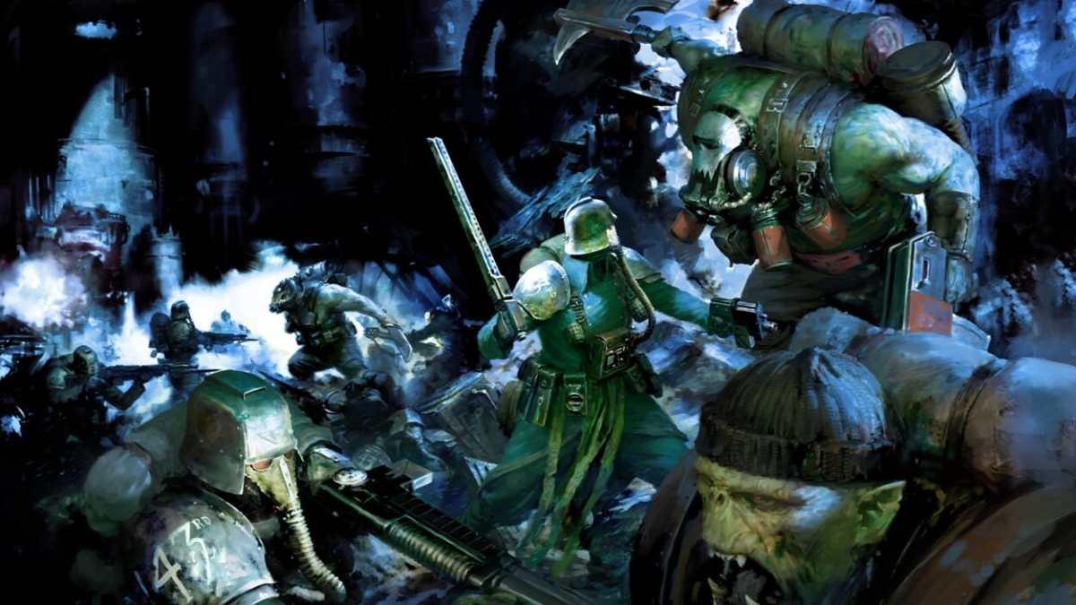 Gli Squadroni della Morte di Krieg affrontano gli Orki