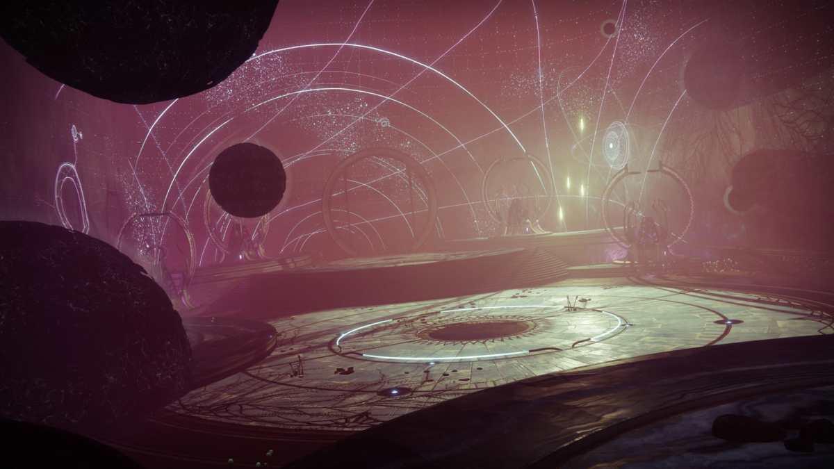 Mappa di Una Vuota Incoronazione in Destiny 2