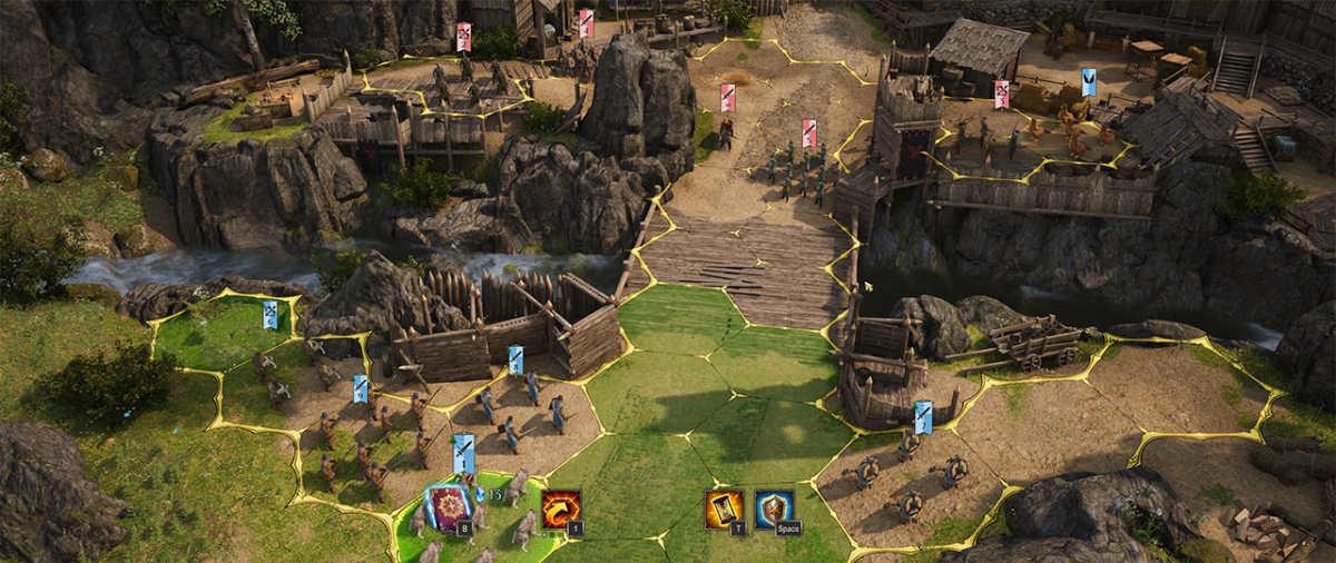 King's Bounty 2, combattimento su terreno più complicato