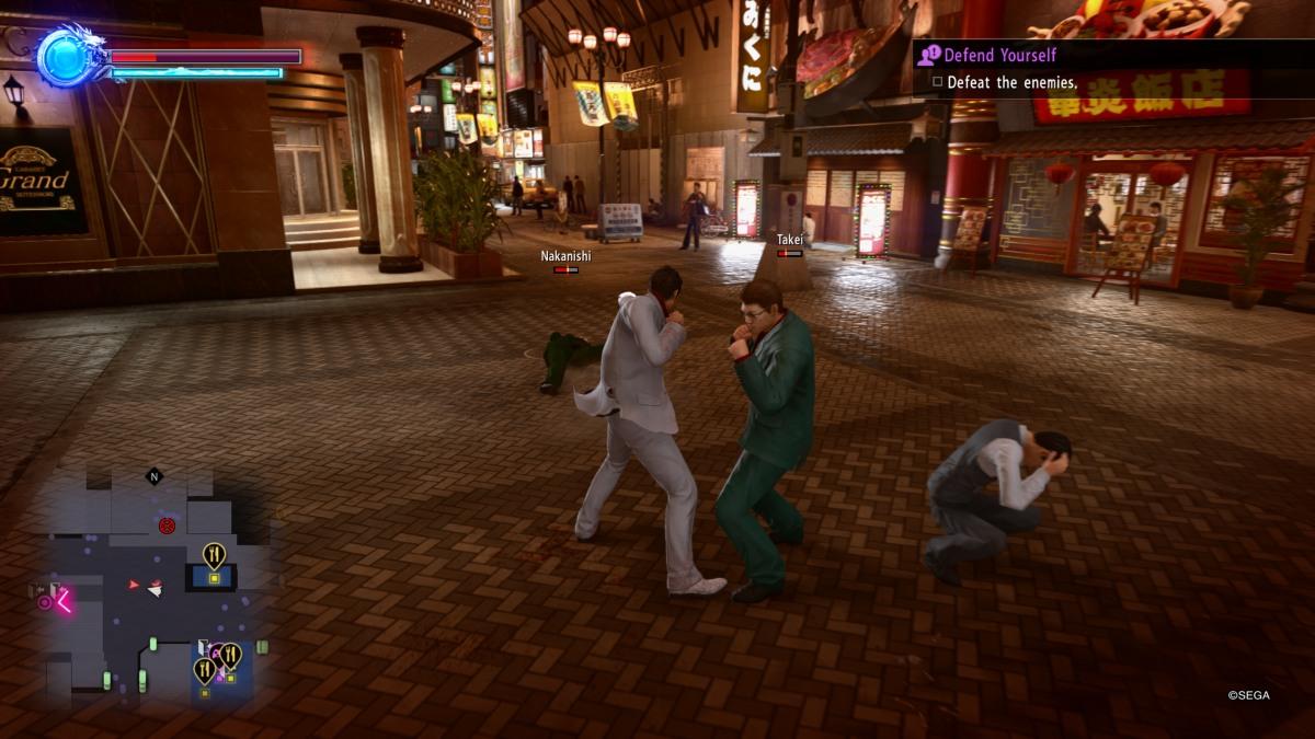 yakuza kiwami 2 gameplay
