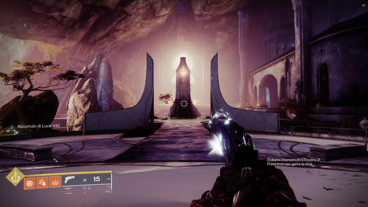 Rifugio dell'Araldo in Destiny 2