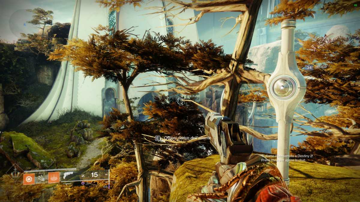 Derive dell'Atlante nel panorama di Rheasilvia