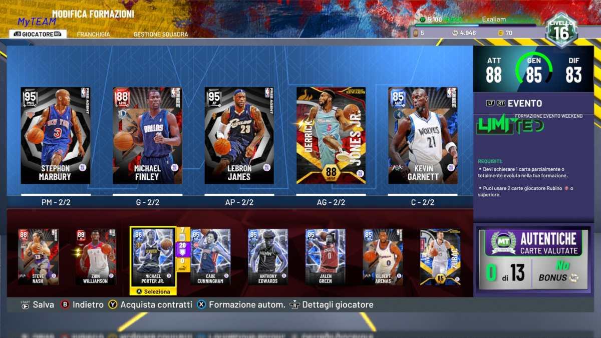 NBA 2K22, MyTeam