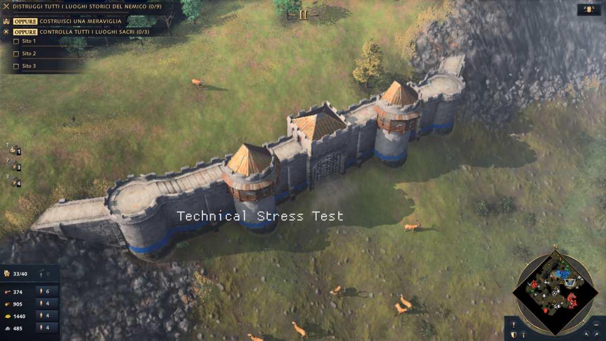 Mura di Age of Empires 4