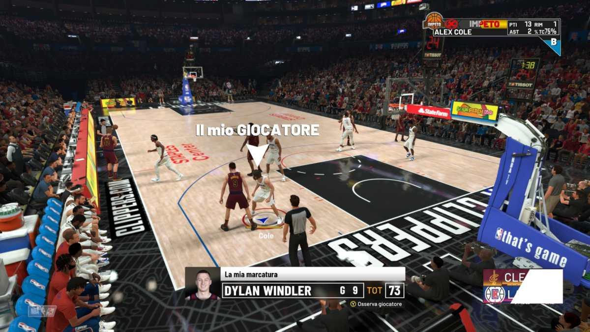 NBA 2K22, partita Carriera