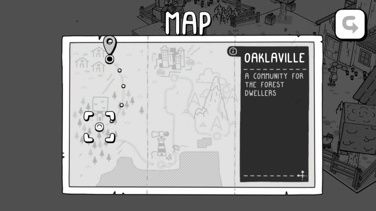 TOEM world map