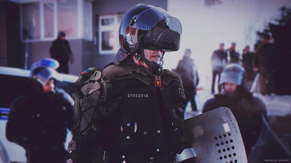 Cyberpunk poliziotto