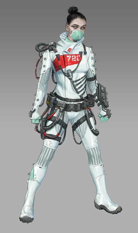 cyberpunk medico