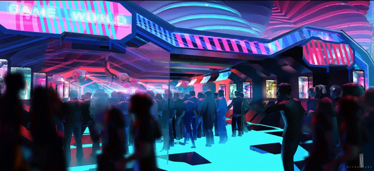 cyberpunk party